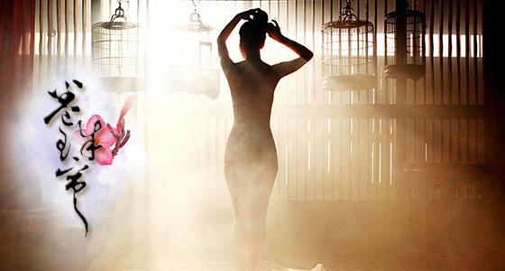 中国风扇子舞《卷珠帘》