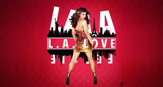 Fergie《L.A.LOVE》原版现场表演舞蹈教学