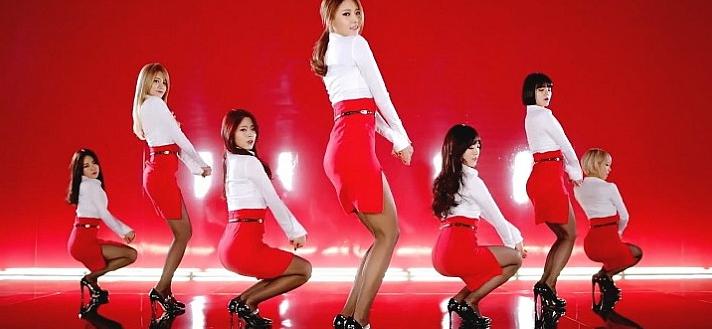 AOA《短裙》原版舞蹈教学