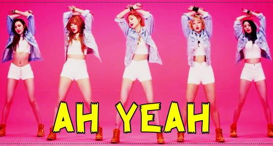 EXID《Ah Yeah》原版速成完整舞蹈教学