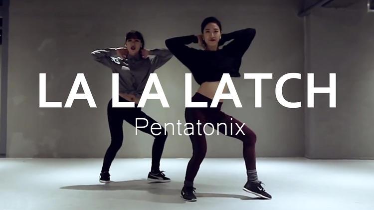 Lia Kim《La  La  Latch》原版成品编舞舞蹈教学
