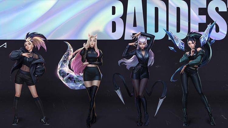 【性感爵士】K/DA《The Baddest》