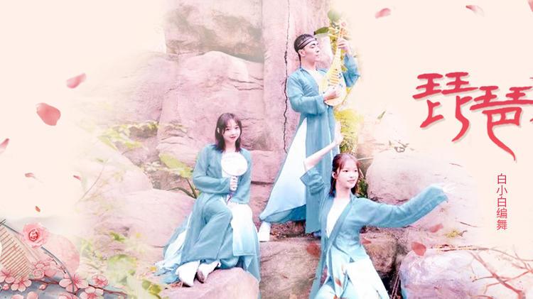 【中国风】白小白编舞《琵琶行》