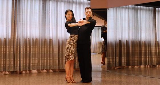 阿宝和阿泰-拉丁舞「桑巴步练习」