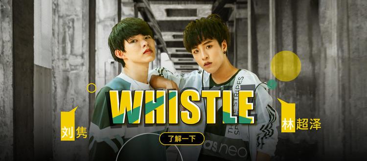 【1M】 刘隽&林超泽编舞《whistle》
