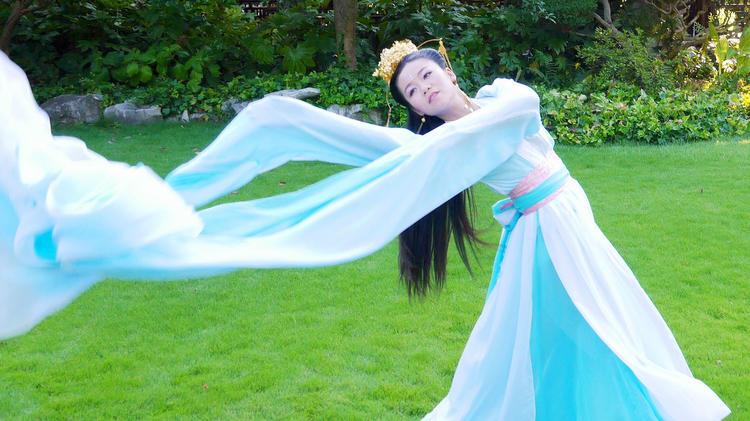 古典风水袖舞