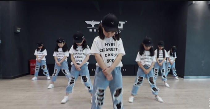 Girls Hiphop 分解教学