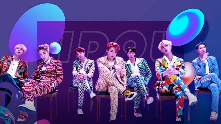 BTS防弹少年团《IDOL》