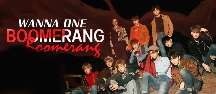 wanna one《boomerang》