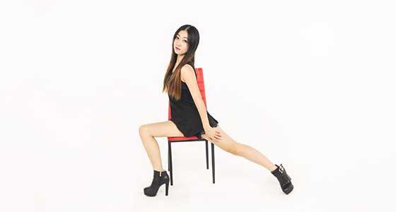 Kookin老师教你跳高跟鞋舞蹈 椅子舞基础教学二