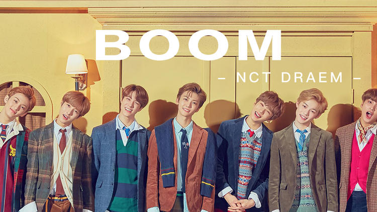 NCT Dream《Boom》
