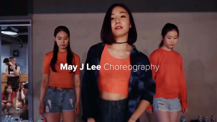 May J Lee《Work Remix》编舞教学