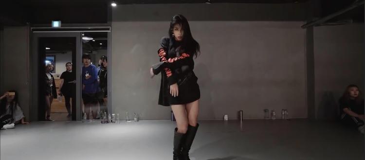 Mina Myoung《Gangsta》原版成品舞蹈教学