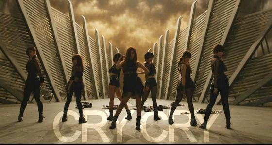 T-ara《Cry Cry》原版完整舞蹈教学