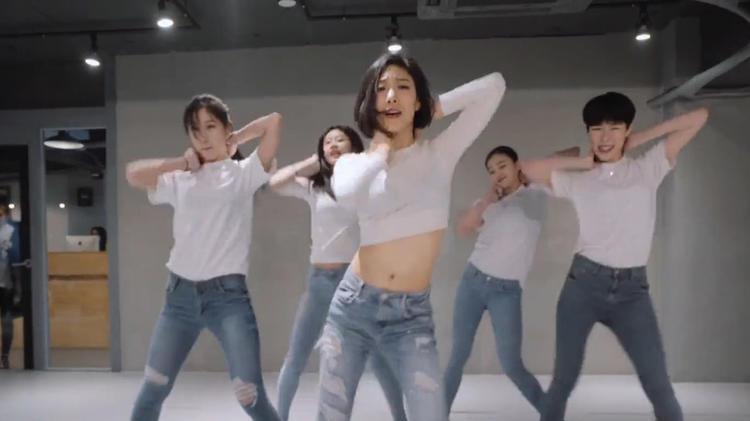 跳Lia Kim编舞《Fox》