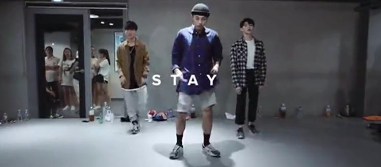 Junsun Yoo编舞《Stay》分解教学
