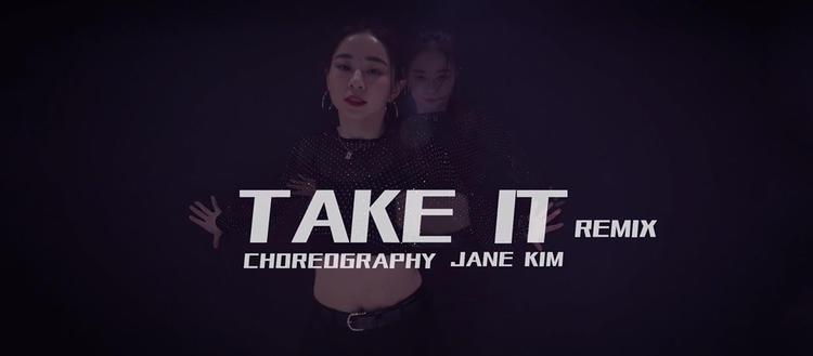 【性感】Jane Kim�舞《Take it》