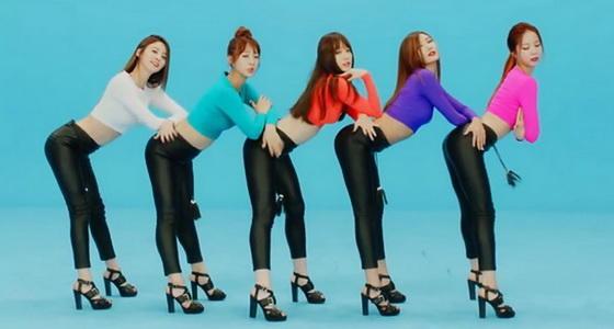 EXID《Up & Down》原版完整舞蹈教学
