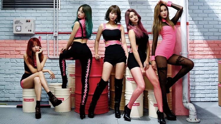 EXID《Hot Pink》 分解教学