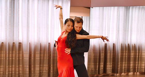 阿宝和阿泰-拉丁舞「恰恰步练习」