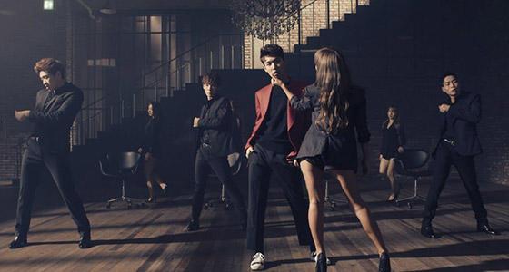孝琳(Sistar)×Jooyoung《Erase》原版第一段舞蹈教学