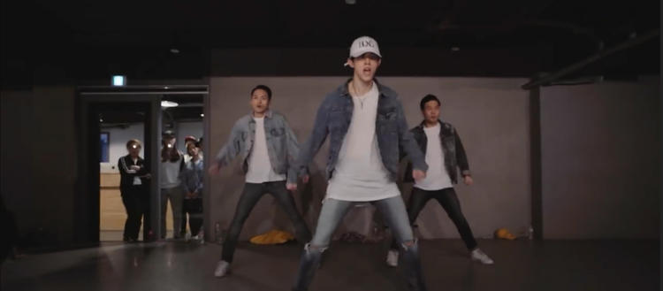 Bongyoung Park《Holla》原版成品舞蹈教■�W