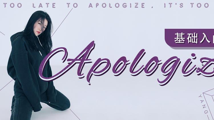 基础入门《Apologize》