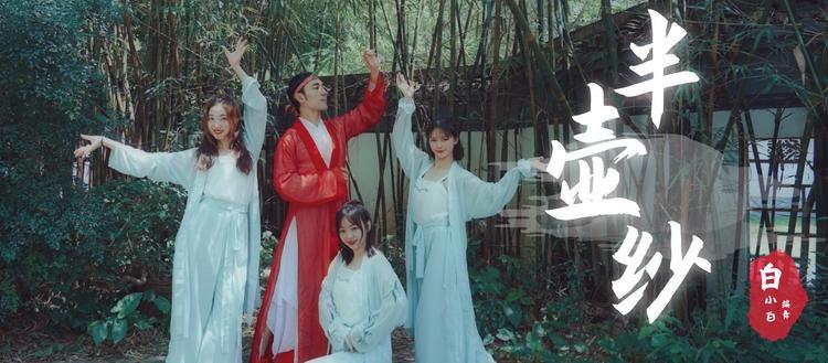【中国风】白小白编舞《半壶纱》